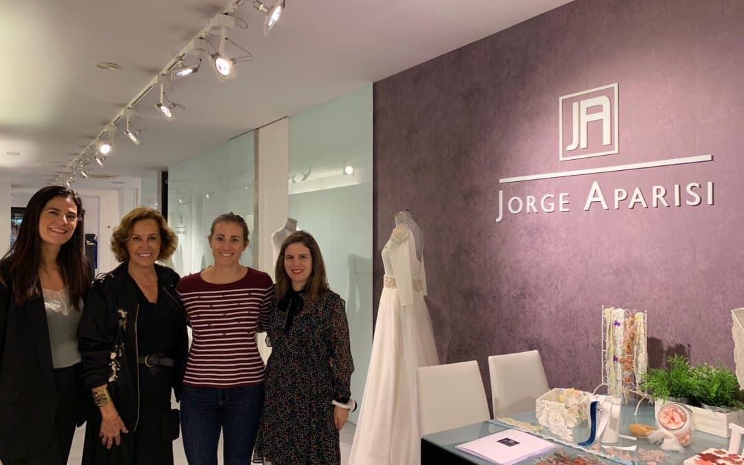 Las firmas de vestidos de novia Beba's Closet y Oh que luna! visitan Jorge Aparisi
