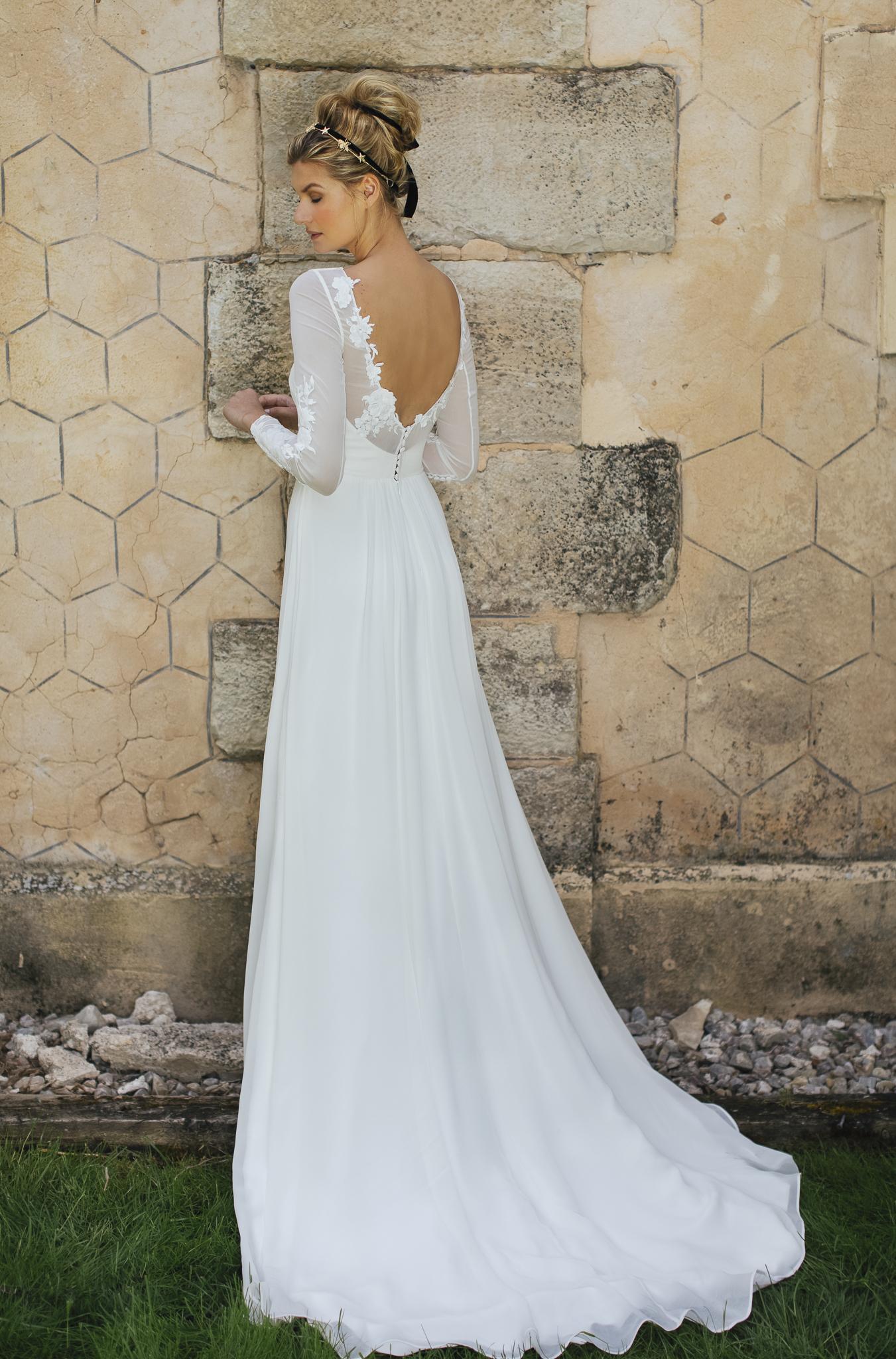 vestidos de novia romanticos
