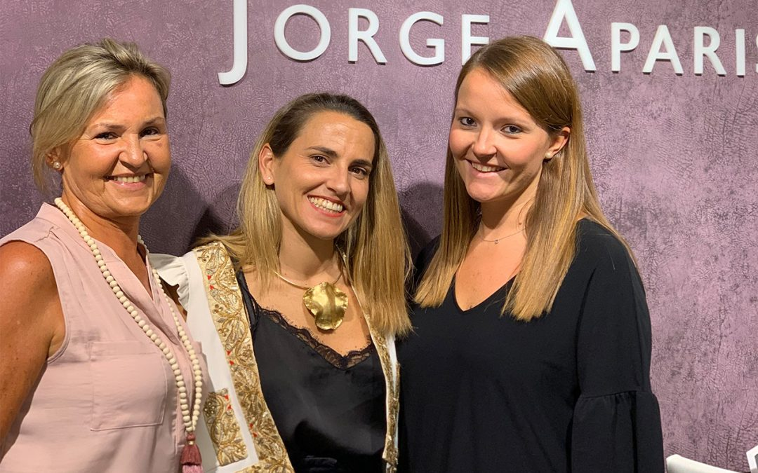 La firma española Pol Núñez visita Jorge Aparisi
